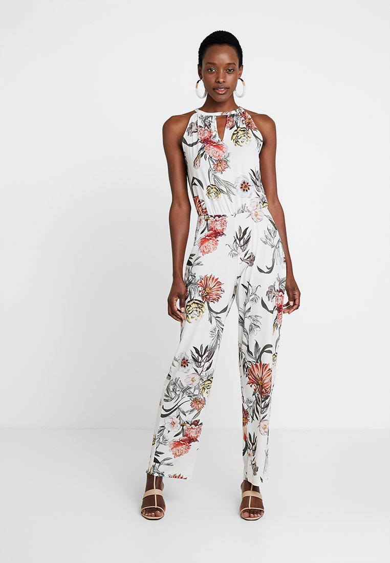Anna Field - Jumpsuit - offwhite/pink/green