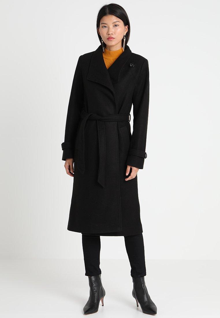 Anna Field - Zimní kabát - black