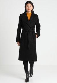 Anna Field - Zimní kabát - black - 1