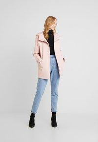 Anna Field - Zimní kabát - rose - 1