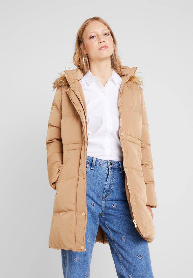Anna Field - Zimní kabát - camel