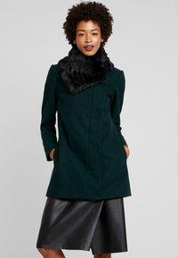Anna Field - Zimní kabát - scarab - 0