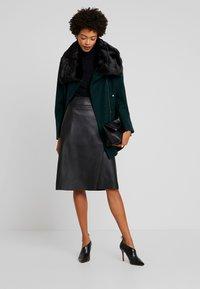 Anna Field - Zimní kabát - scarab - 1
