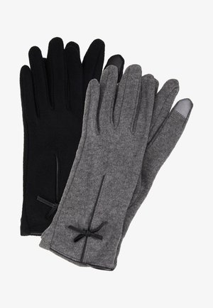 2 PACK - Handschoenen - black/grey