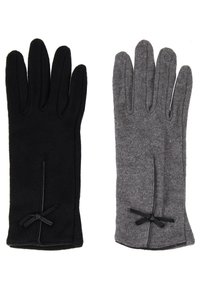 Anna Field - 2 PACK - Gloves - black/grey