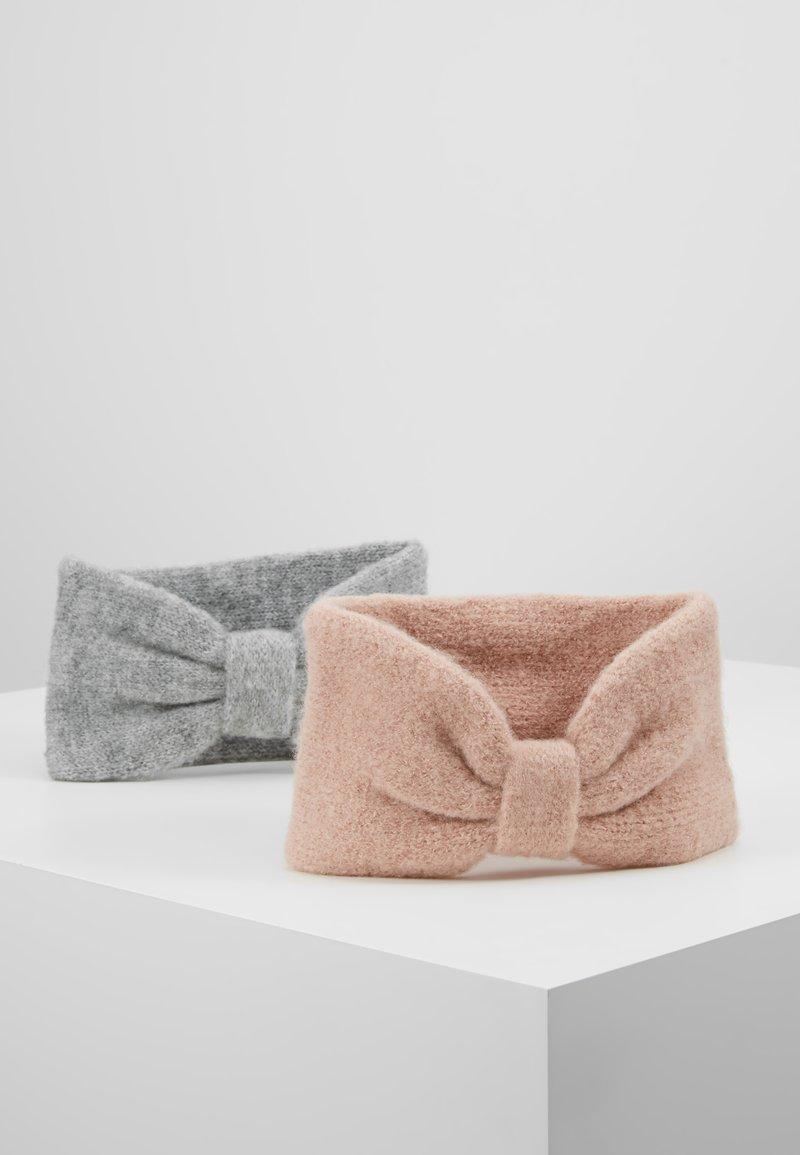 Anna Field - 2 PACK - Ohrenwärmer - rose/grey