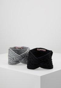 Anna Field - 2 PACK - Oorwarmers - black/grey - 0