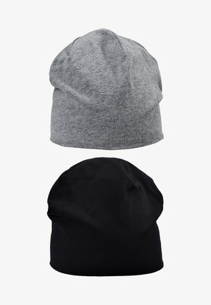 2 PACK - Beanie - blackgrey