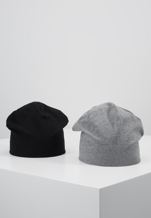 2 PACK - Čepice - blackgrey