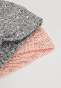 Anna Field - 2 PACK - Paraorecchie - grey/pink - 4