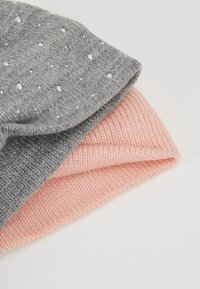 Anna Field - 2 PACK - Ear warmers - grey/pink - 4