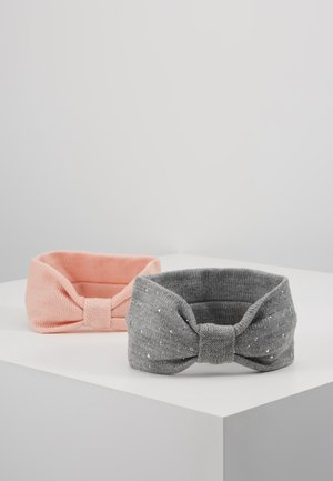 2 PACK - Oorwarmers - grey/pink