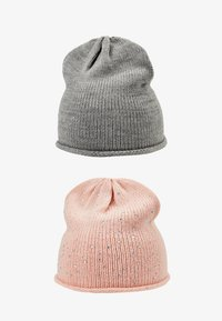 Anna Field - 2 PACK - Gorro - rose/grey - 3