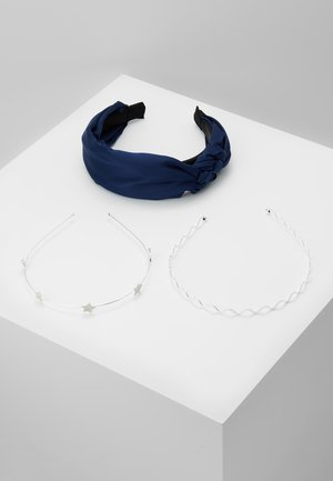 SET 3 PACK - Accessori capelli - silver-coloured/blue