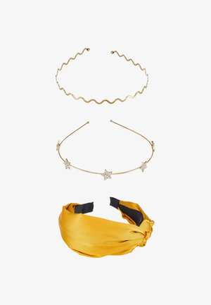 SET 3 PACK - Hårstyling-accessories - yellow/gold-coloured