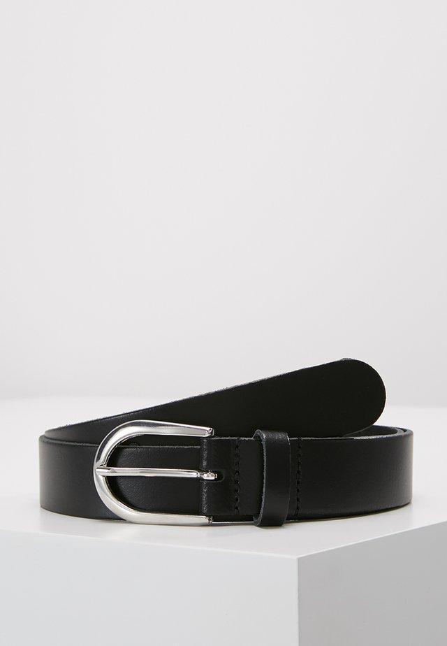 LEATHER - Formální pásek - black