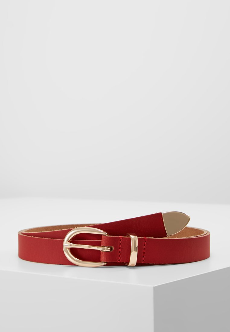 Anna Field - LEATHER - Belt - red