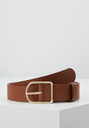 LEATHER - Cinturón - cognac