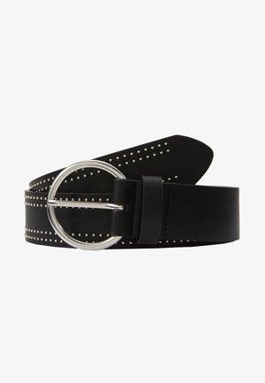 Belte - black/silver