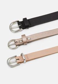 Anna Field - Waist belt - nude/black/gold - 1