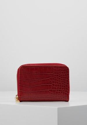 Portefeuille - dark red