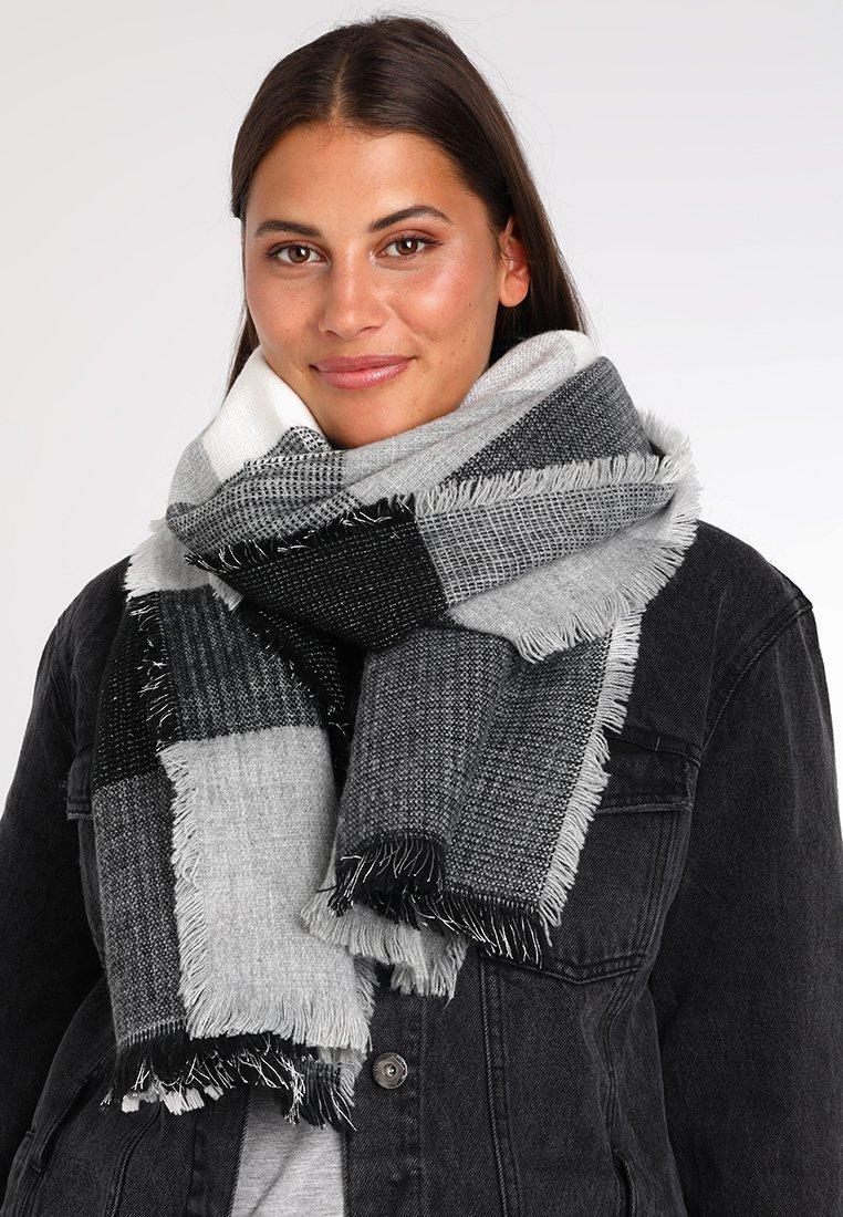 Anna Field - Sjal / Tørklæder - black/grey/white