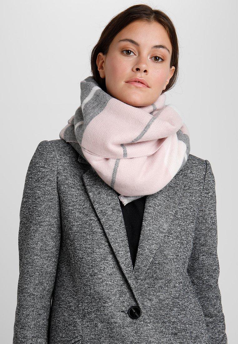 Anna Field - Šála - grey/pink/white