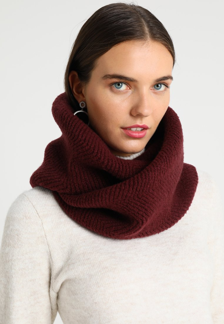 Anna Field - Snood - bordeaux