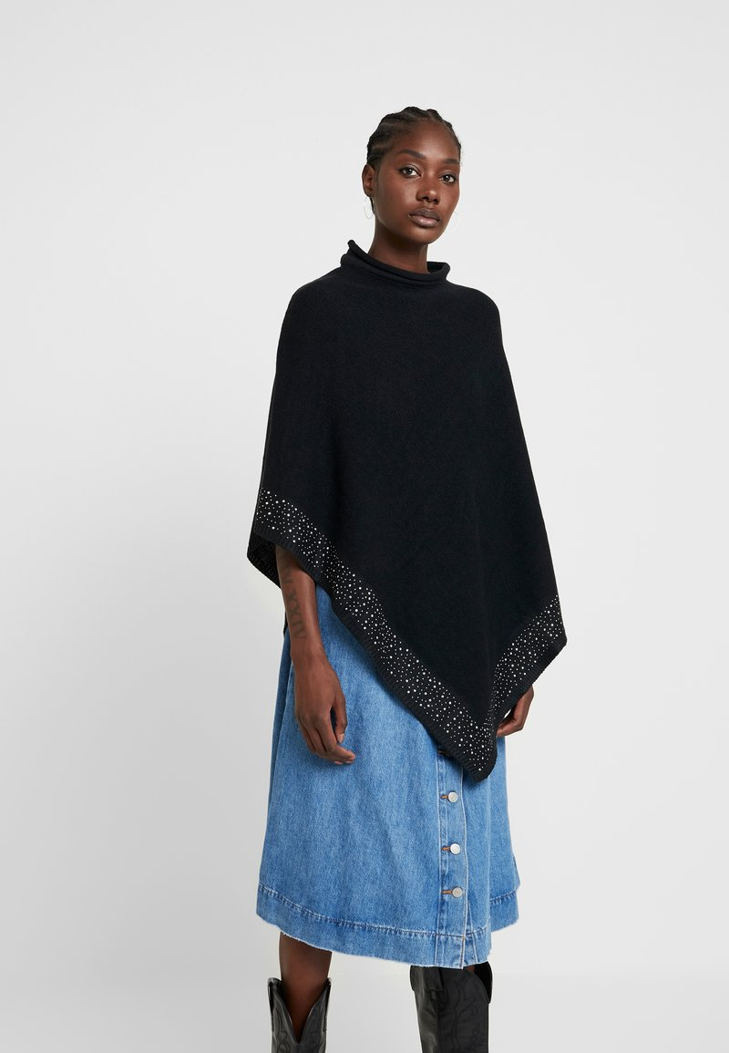 Anna Field - Poncho - black