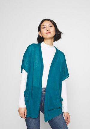Cardigan - turquoise