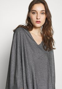 Anna Field - Poncho - black - 3