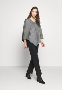 Anna Field - Poncho - black - 1