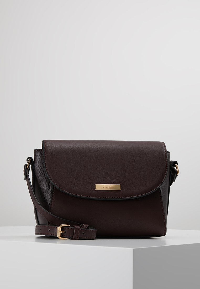 Anna Field - Across body bag - dark brown