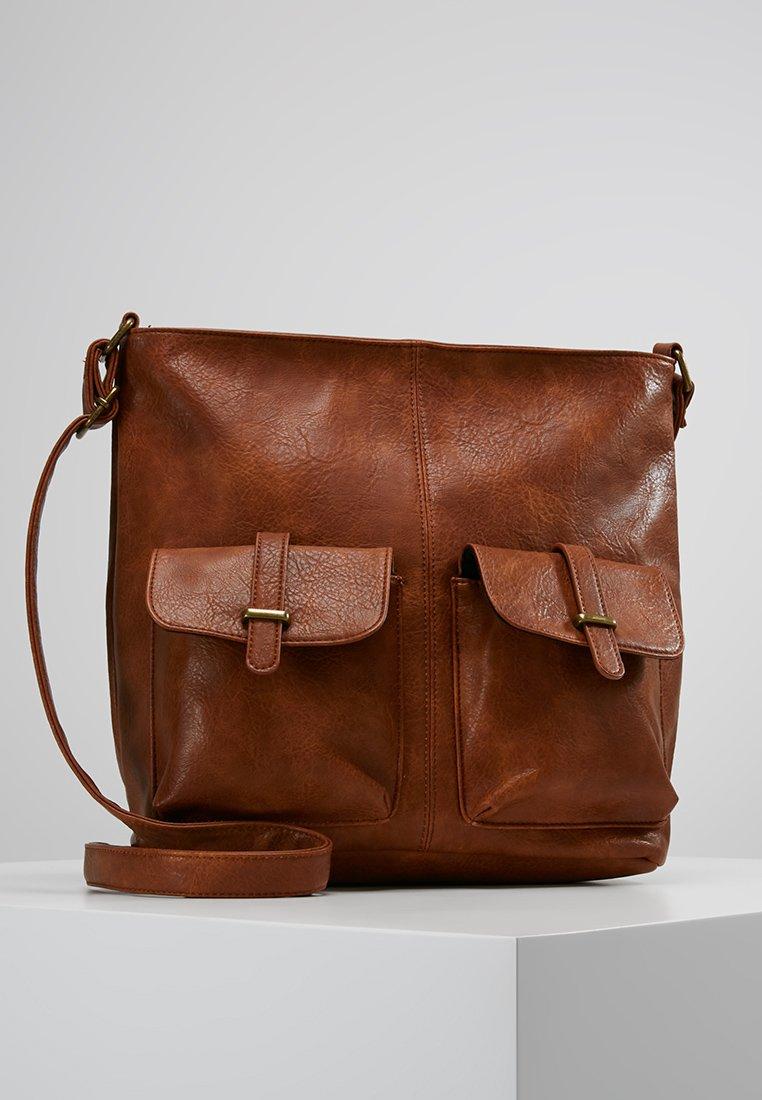 Anna Field - Across body bag - cognac