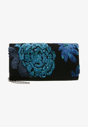 Clutch - blue/black