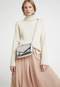 Anna Field - Across body bag - silver - 1