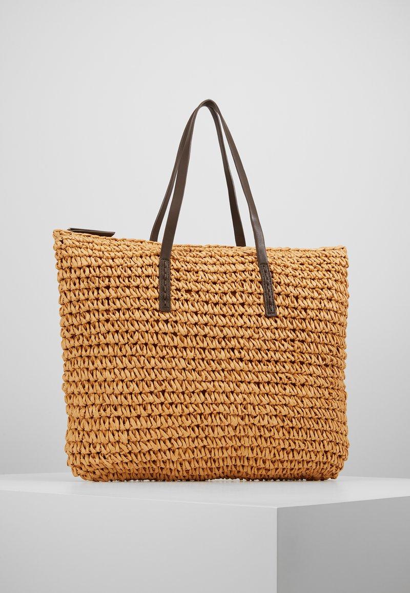 Anna Field - Tote bag - beige/brown