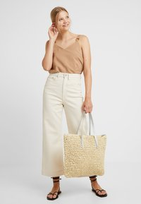 Anna Field - Shopper - beige/silver - 1