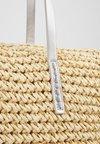 Anna Field - Shopping bag - beige/silver