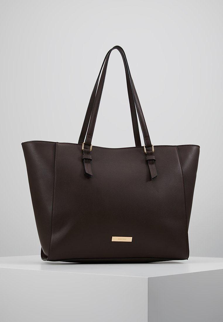 Anna Field - Shopping bag - dark brown