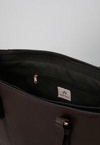 Anna Field - Shopping bag - dark brown - 4