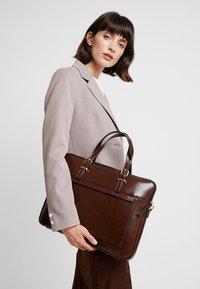 Anna Field - Laptop bag - dark brown - 1