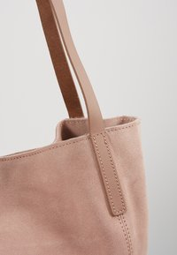 Anna Field - LEATHER - Shoppingveske - rose