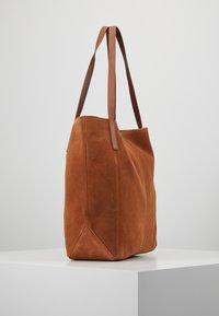 Anna Field - LEATHER - Shopper - cognac - 3