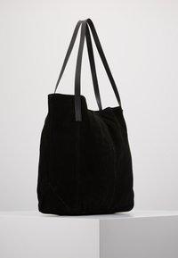 Anna Field - LEATHER - Shoppingväska - black - 3