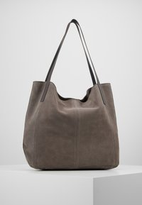 Anna Field - LEATHER - Shopping Bag - anthracite - 3