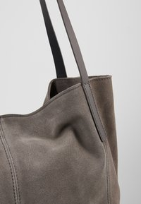 Anna Field - LEATHER - Shopping Bag - anthracite - 2