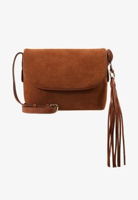 Anna Field - LEATHER - Torba na ramię - cognac - 5