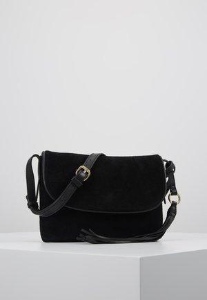LEATHER - Bandolera - black