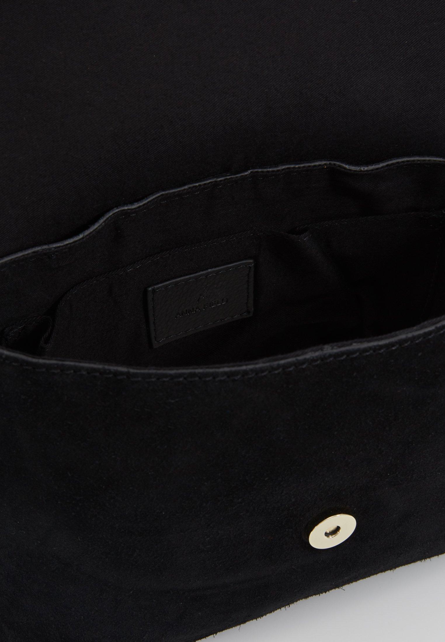 Anna Field Leather - Sac Bandoulière Black